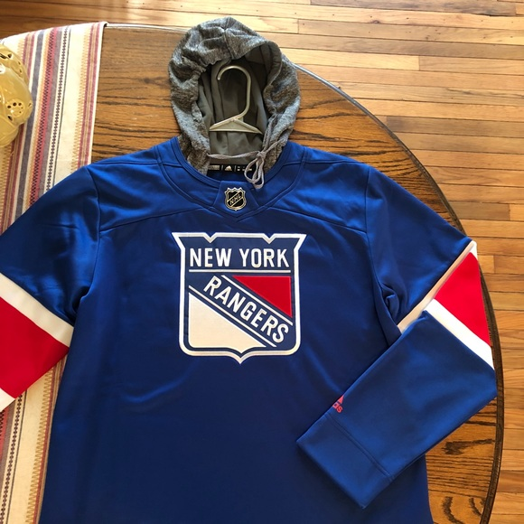 adidas Other - Adidas NY Rangers Silver Pullover Hoodie - SIZE M ae61e07aaec